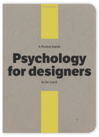 Psychology for Designers by Joe Leech, Book Cover